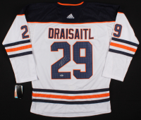 Leon Draisaitl Signed Edmonton Oilers Jersey (Beckett COA) at PristineAuction.com