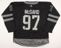 Connor McDavid Signed Edmonton Oilers Jersey (Beckett COA) at PristineAuction.com