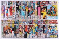 "Lot of (36) 1981-1995 ""Captain America"" Marvel Comic Books at PristineAuction.com"