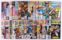 "Lot of (32) 1982-1996 ""Captain America"" Marvel Comic Books at PristineAuction.com"