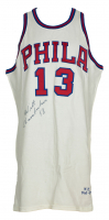 Wilt Chamberlain Signed Philadelphia 76ers Jersey (UDA COA & PSA LOA) at PristineAuction.com