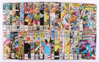 "Lot of (31) 1981-1992 ""Captain America"" Marvel Comic Books at PristineAuction.com"
