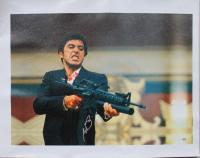 "Al Pacino Signed ""Scarface"" 20x28 Photo On Canvas (PSA COA) at PristineAuction.com"