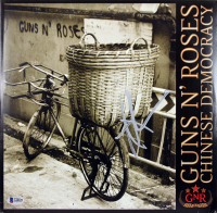 """Axl Rose Signed Guns N' Roses """"Chinese Democracy"""" Vinyl Record Album (Beckett LOA) at PristineAuction.com"""