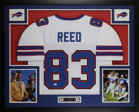 Andre Reed Signed 35x43 Custom Framed Jersey (JSA COA) at PristineAuction.com