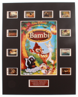 """""""Bambi"""" LE 8x10 Custom Matted Original Film / Movie Cell Display at PristineAuction.com"""