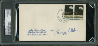 Buzz Aldrin Signed 1969 Event Cover Cachet (PSA Encapsulated) at PristineAuction.com