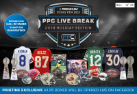PPC Live Break 2019 Holiday Edition Mystery Box - Limited to 25 (#25/25) at PristineAuction.com