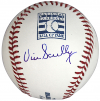 Vin Scully Signed Hall of Fame OML Baseball (Beckett COA) at PristineAuction.com