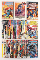 "Lot of (43) 1996-2002 ""Captain America"" Marvel Comic Books at PristineAuction.com"