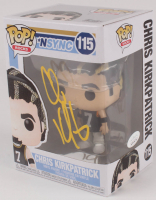 Chris Kirkpatrick Signed 'NSYNC #115 Funko Pop! Vinyl Figure (JSA COA) at PristineAuction.com