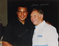Muhammad Ali & Mickey Mantle Signed 11x14 Photo (JSA LOA) at PristineAuction.com