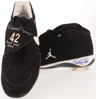 "Lot of (2) Game-Used Nike Cleats Signed by Derek Jeter & Mariano Rivera Inscribed ""Game Used 2003"" (JSA ALOA & Steiner COA) at PristineAuction.com"