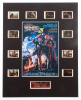 """""""Back to the Future Part III"""" LE 8x10 Custom Matted Original Film / Movie Cell Display at PristineAuction.com"""