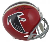 Deion Sanders Signed Atlanta Falcons Throwback Full-Size Helmet (Beckett COA) at PristineAuction.com