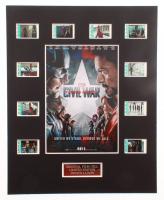 """Captain America: Civil War"" LE 8x10 Custom Matted Original Film / Movie Cell Display at PristineAuction.com"