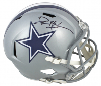 Deion Sanders Signed Cowboys Full-Size Speed Helmet (Beckett COA) at PristineAuction.com