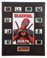 """Deadpool"" LE 8x10 Custom Matted Original Film / Movie Cell Display at PristineAuction.com"