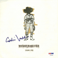 "Eddie Vedder Signed Pearl Jam ""Bu$hleaguer"" Vinyl Record Single (PSA LOA) at PristineAuction.com"