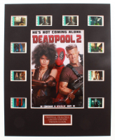 """""""Deadpool 2"""" LE 8x10 Custom Matted Original Film / Movie Cell Display at PristineAuction.com"""