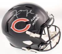 "Khalil Mack Signed Chicago Bears Full-Size Speed Helmet Inscribed ""Mack Attack"" (Beckett COA) at PristineAuction.com"