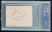 George Harrison, Ringo Starr, & Tommy Roe Signed 3x4 Cut with Multiple Inscriptions (PSA Encapsulated) at PristineAuction.com