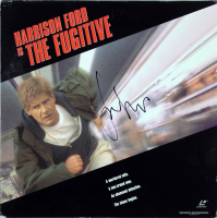 "Harrison Ford Signed ""The Fugitive"" LaserDisc Cover (Beckett LOA) at PristineAuction.com"