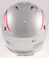 "Julian Edelman Signed New England Patriots Full-Size Authentic On-Field Speed Helmet Inscribed ""SB LIII MVP"" (Beckett COA) at PristineAuction.com"
