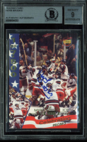 1995 Signature Rookies Miracle on Ice Signatures #P1 Celebration Promo / Herb Brooks at PristineAuction.com