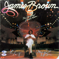 "James Brown Signed ""The Original Disco Man"" Vinyl Record Album (Beckett COA & PSA Hologram) at PristineAuction.com"