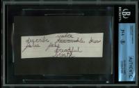James Dean 1.25x4.5 Handwriting Sample Cut (JSA Encapsulated & JSA LOA Copy) at PristineAuction.com