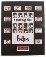 """The Beatles: A Hard Day's Night"" LE 8x10 Custom Matted Original Film / Movie Cell Display at PristineAuction.com"