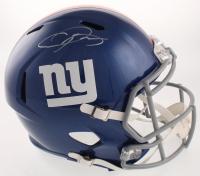 Odell Beckham Jr. Signed New York Giants Full-Size Speed Helmet (JSA COA) at PristineAuction.com