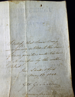 James Monroe Signed Land Grant Document (PSA LOA) at PristineAuction.com