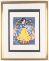 "Walt Disney's ""Snow White"" 17x21 Custom Framed Animation Serigraph Display at PristineAuction.com"