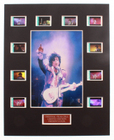 """Purple Rain"" LE 8x10 Custom Matted Original Film / Movie Cell Display at PristineAuction.com"
