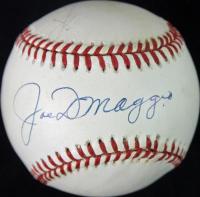 Joe DiMaggio & Dom DiMaggio Signed OAL Baseball (JSA LOA) at PristineAuction.com