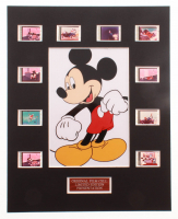 """Mickey Mouse"" LE 8x10 Custom Matted Original Film / Movie Cell Display at PristineAuction.com"