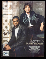Mick Jagger & Chadwick Boseman Signed 2014 Billboard Magazine (Beckett LOA) at PristineAuction.com