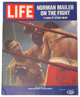 Muhammad Ali & Joe Frazier Signed 1971 Life Magazine (Beckett LOA) at PristineAuction.com