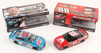 Lot of (2) Dale Earnhardt Jr. LE 1:24 Scale Die Cast Cars with Signed #88 Mountain Dew-S-A-Autographed 2017 SS & #88 Axalta Last Ride 2017 SS (Earnhardt Jr. Hologram) at PristineAuction.com
