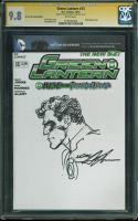 "Neal Adams Signed 2012 ""Green Lantern"" Issue #13 DC Comic Book with Original Hand-Drawn Sketch (CGC 9.8) at PristineAuction.com"