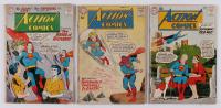 "Lot of (3) ""Superman"" Action Comics DC Comic Books at PristineAuction.com"
