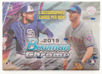 2019 Bowman Chrome Baseball HTA Choice Hobby Box - Factory Sealed at PristineAuction.com