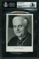 Pope Benedict XVI Signed 4x6 Photo (BGS Encapsulated) at PristineAuction.com