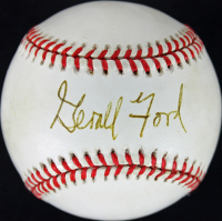 Gerald Ford Signed OAL Baseball (JSA LOA) at PristineAuction.com