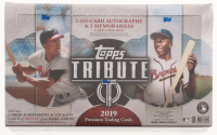 2019 Topps Tribute Baseball Hobby Box - Factory Sealed at PristineAuction.com