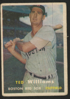 1957 Topps #1 Ted Williams at PristineAuction.com
