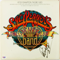 "Ringo Starr Signed The Beatles ""Sgt. Pepper's Lonely Hearts Club Band"" Vinyl Record Album (PSA LOA) at PristineAuction.com"