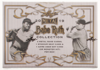 2019 Leaf Metal Babe Ruth Collection Baseball Hobby Box - Factory Sealed at PristineAuction.com
